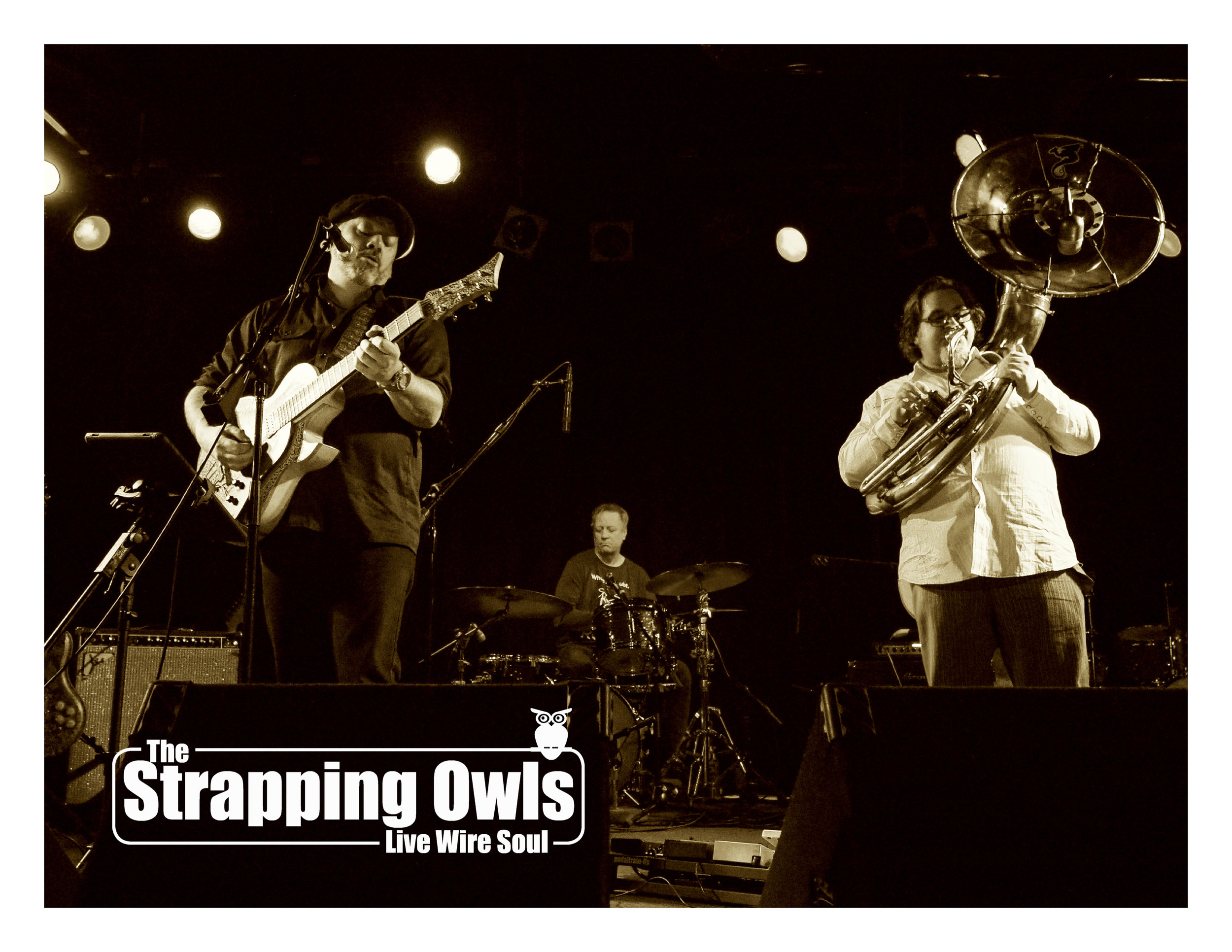 The Strapping Owls Press Photo | Sepia 3 | 2018.jpg