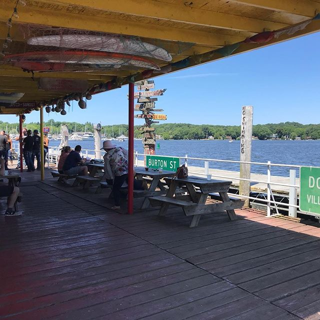 Today's forecast: Sunny with a a chance of groove. Sunday funday at #Reddock #livewiresoul #douglasmi #saugatuck #fennville #westmi #livemusic #blues #rock #funky