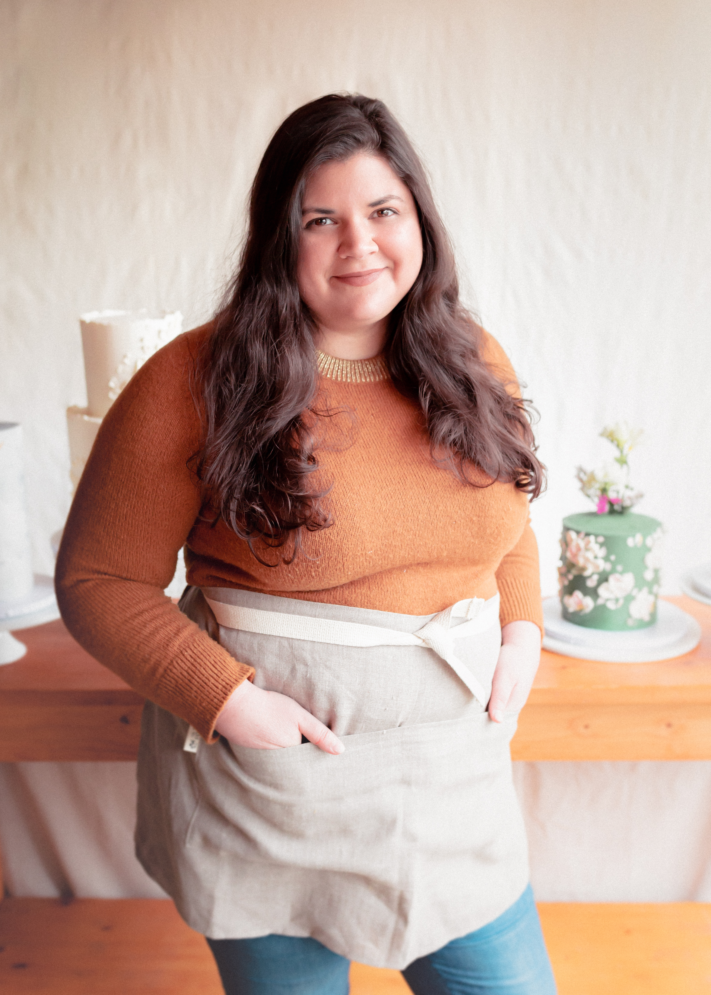 Becca | Head Baker - After a fulfilling career as a early childhood educator and birth doula, Becca was next planning on a career move into Nursing. She instead made the choice to listen to intuition and she enrolled in Seattle Culinary Academy where these two solo artists met and laid the groundwork for Lady Grey.
