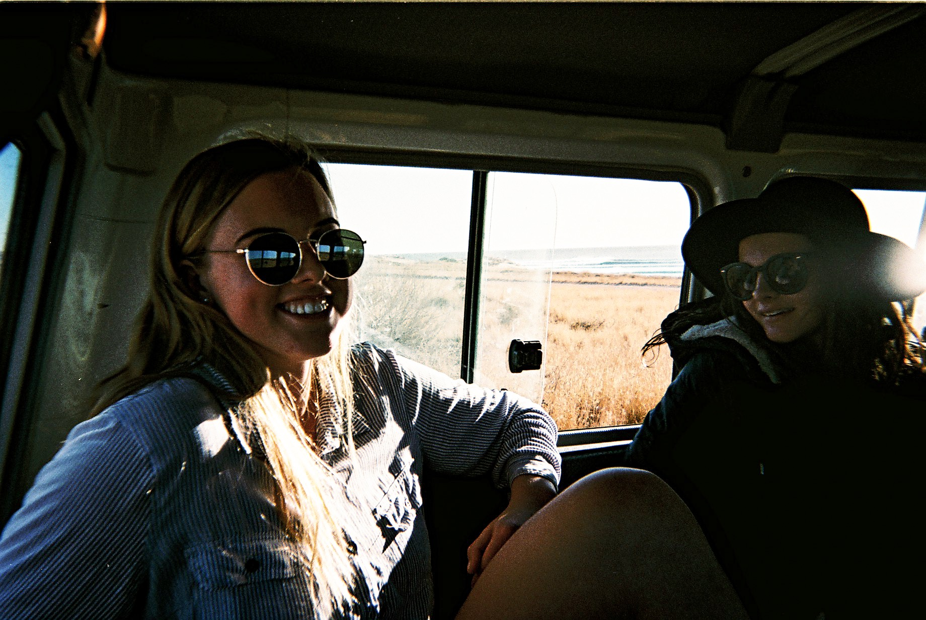 #35mm disposable // Travelling in the Toyota personnel carrier in this kind of arid terrain had seriously strong resemblances to an African safari- the only difference was we were chasing wild goats instead of lions and cheetahs. @livmickle @kalaniscott_