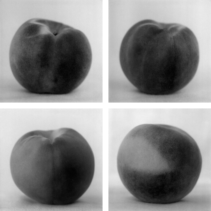 "Peaches (detail) , 1999-2002  Archival pigment prints; 20 x 16"" (50.8 x 40.6cm) each; Edition of 5, 1 AP"