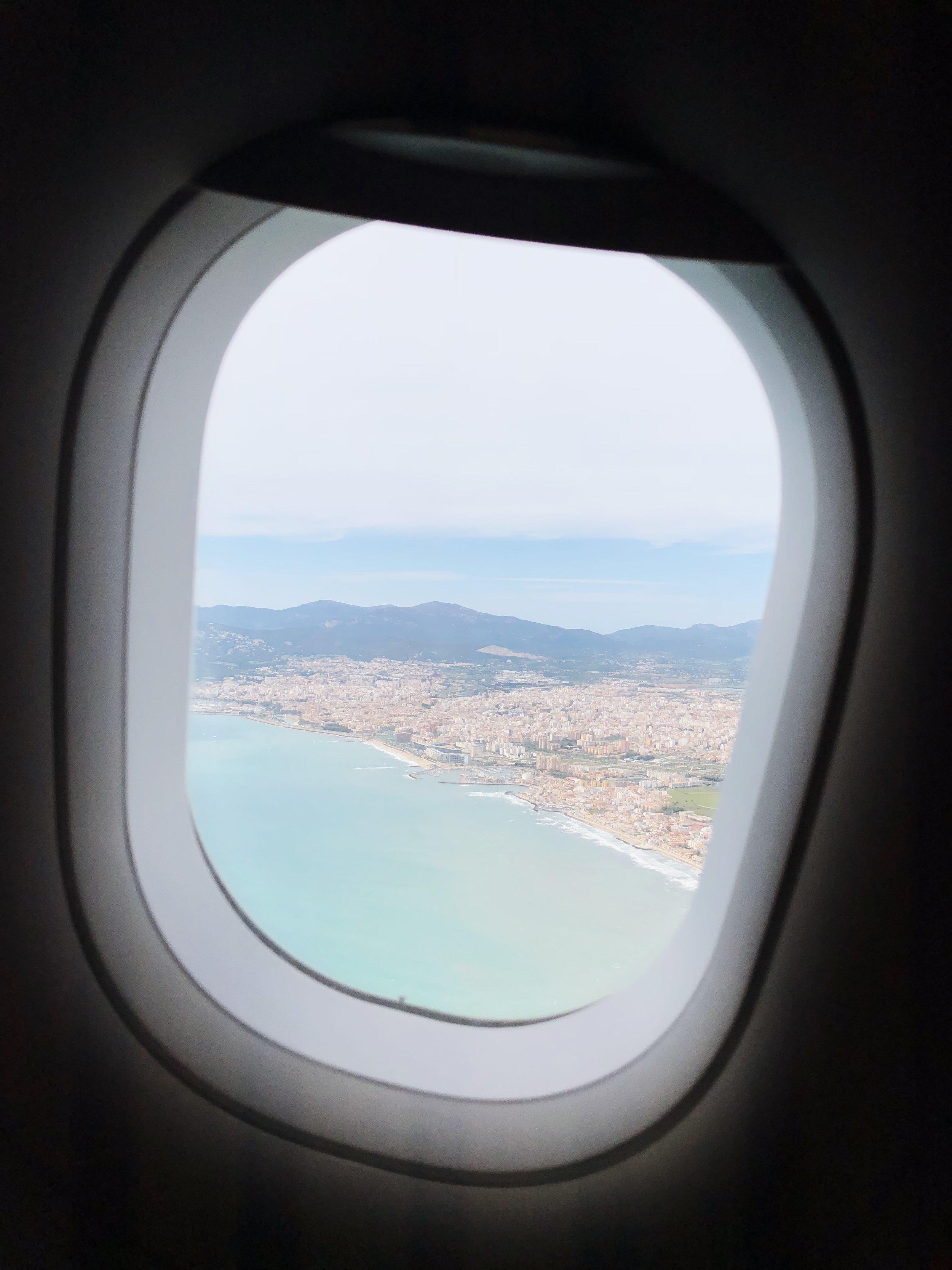 Palma de Mallorca - Mit der Swiss ab ZHR in 1h15 Min dort.