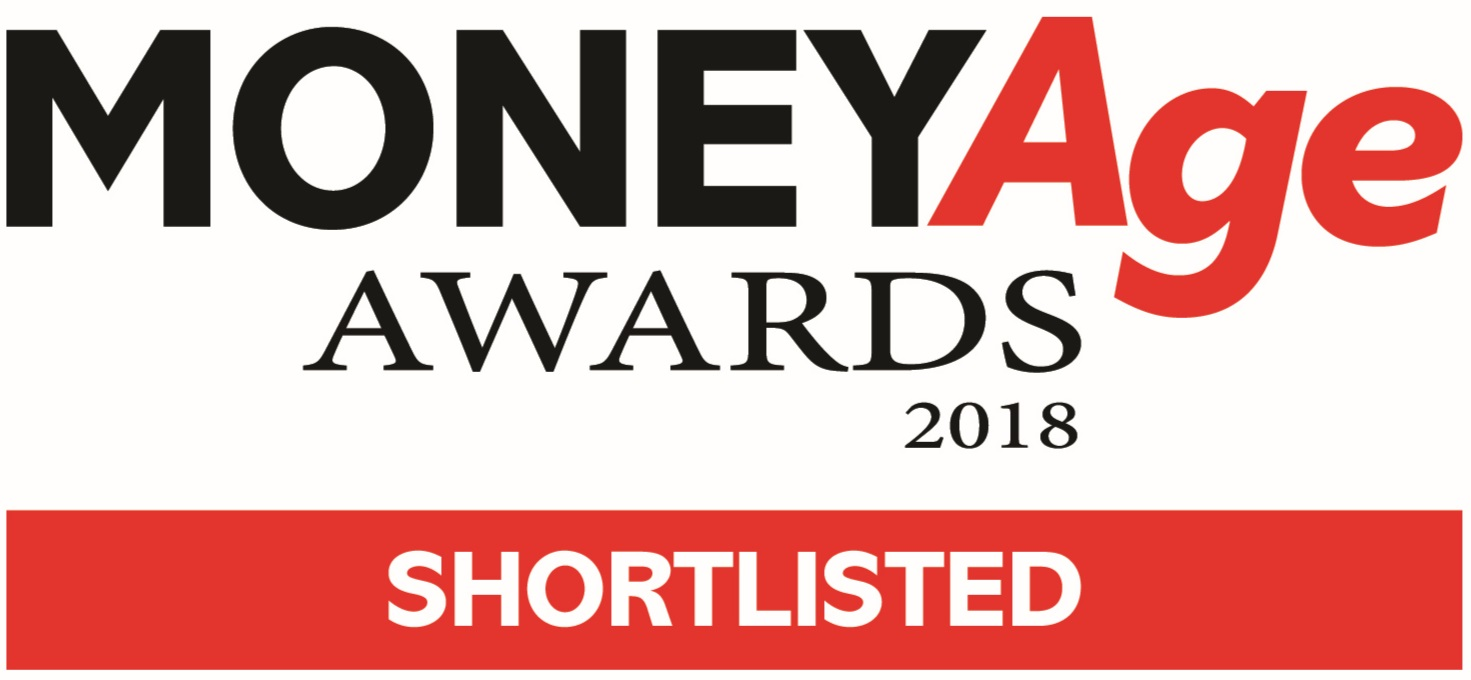 Shortlisted - Financial Adviser of the Year ( small to medium firm) in the MoneyAge Awards 2018