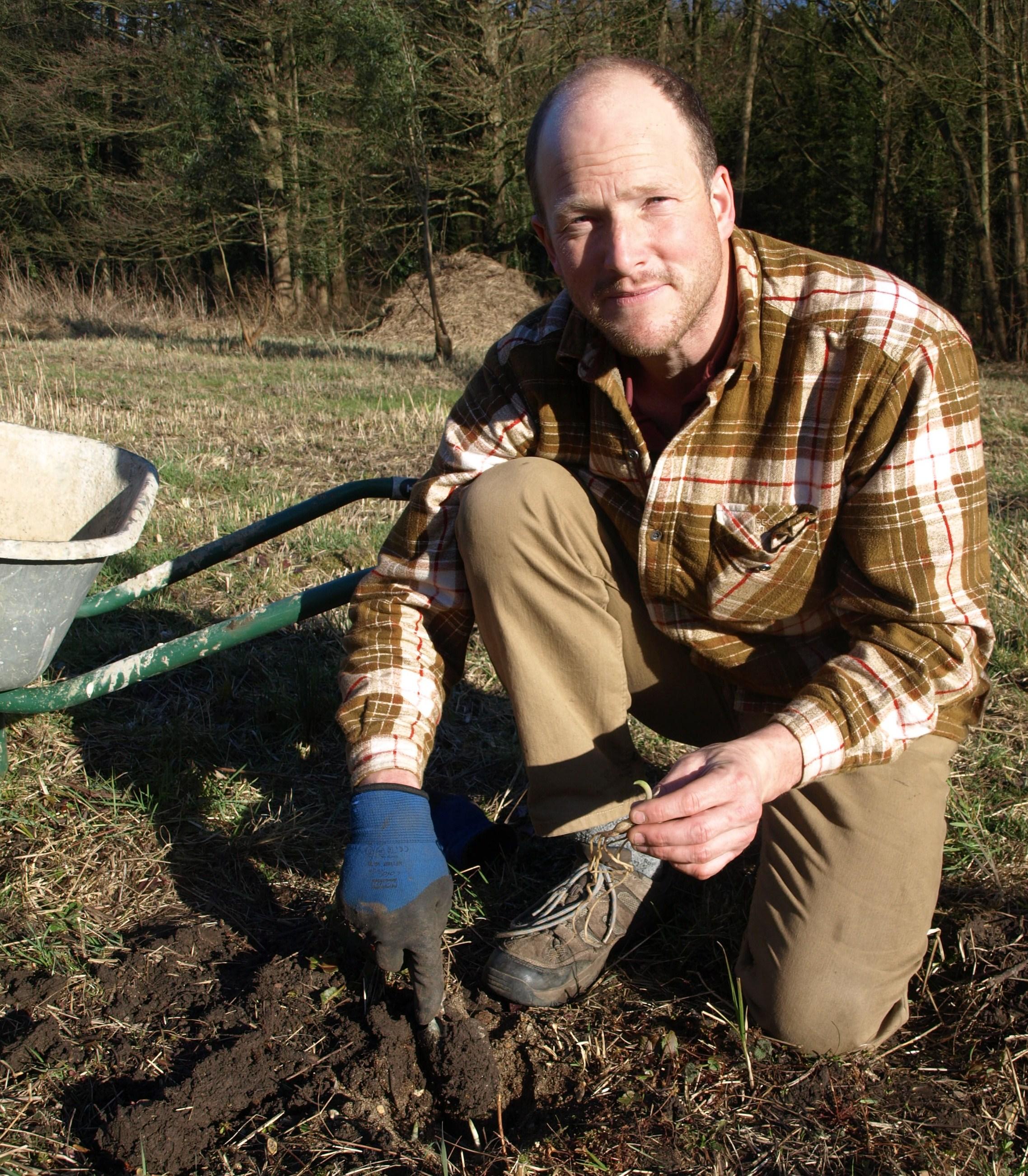 Orchid Meadow inaugural Tuber Planting - 07.03.15.JPG