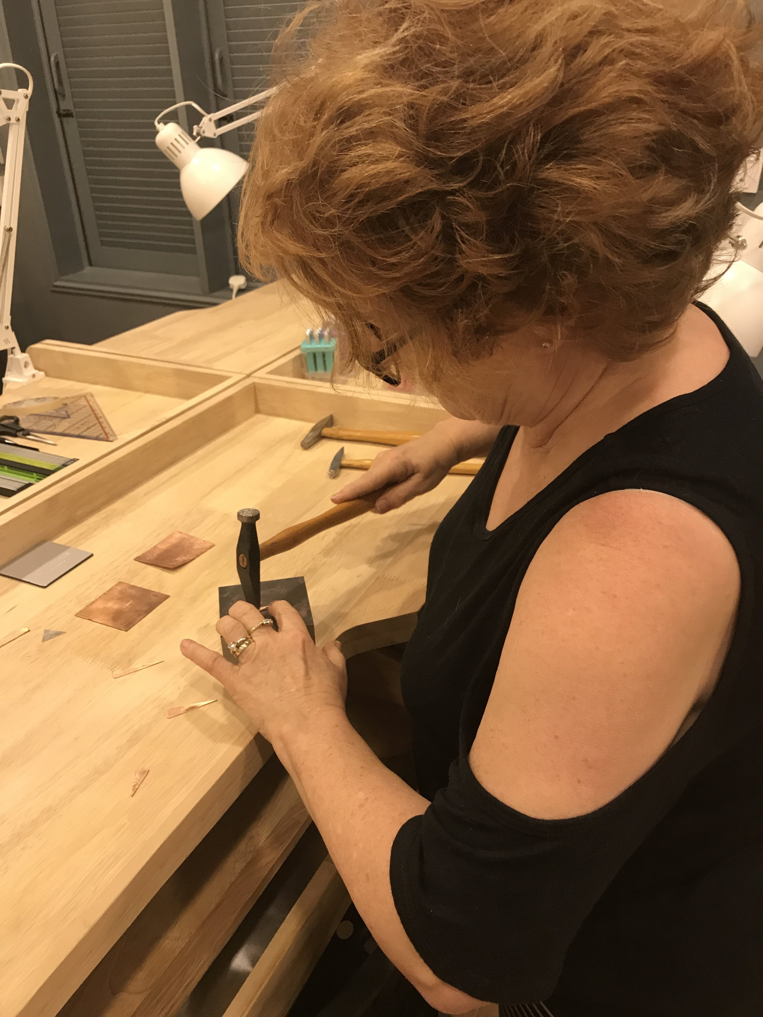- The talented Dagmar hard at work!