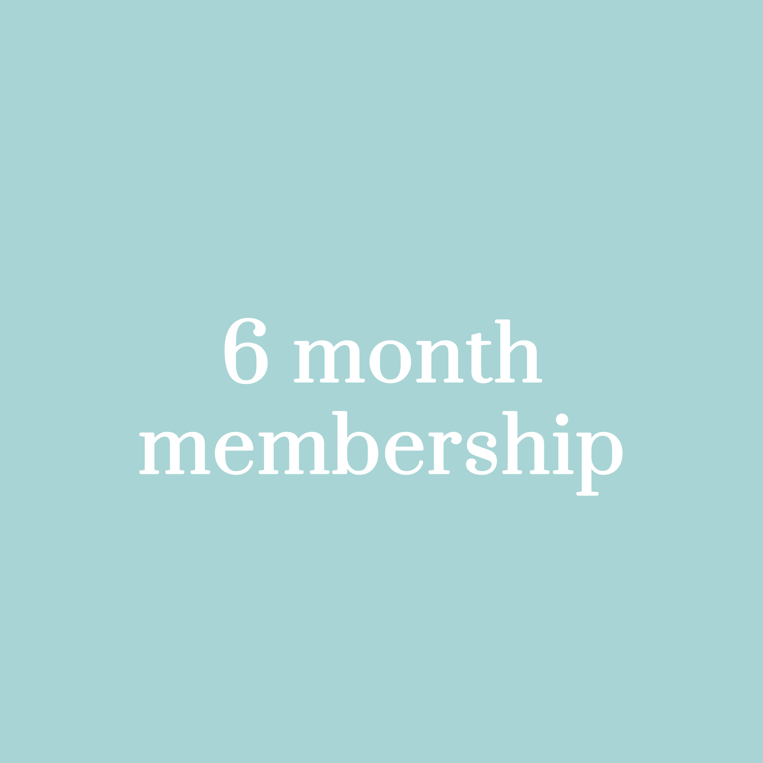 RM2,250 - (approx. USD 545) for a 6-month membership (equals to RM375 per month)