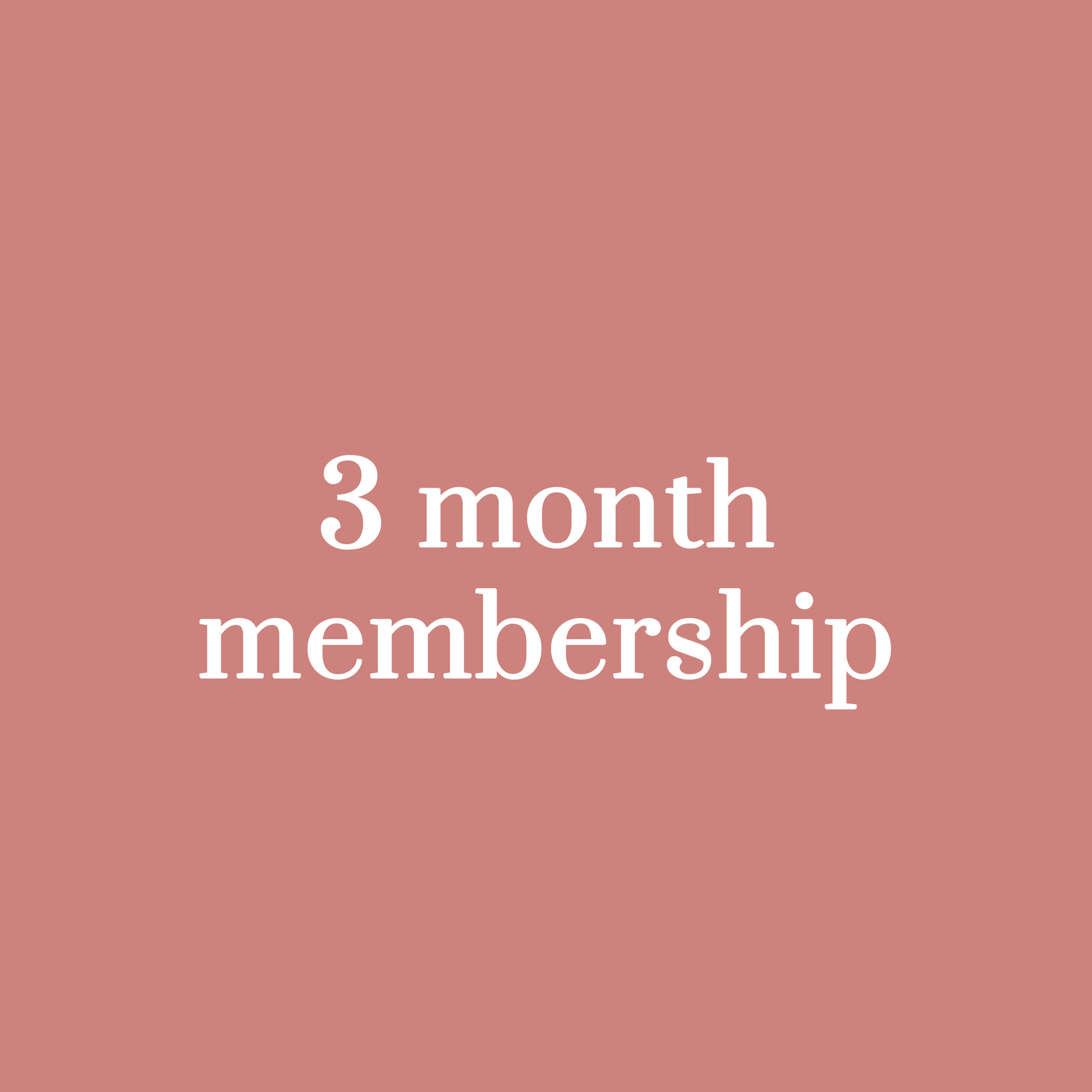 RM 1,250 - (approx. USD 300) for a 3-month membership (equals to RM416.67 per month)