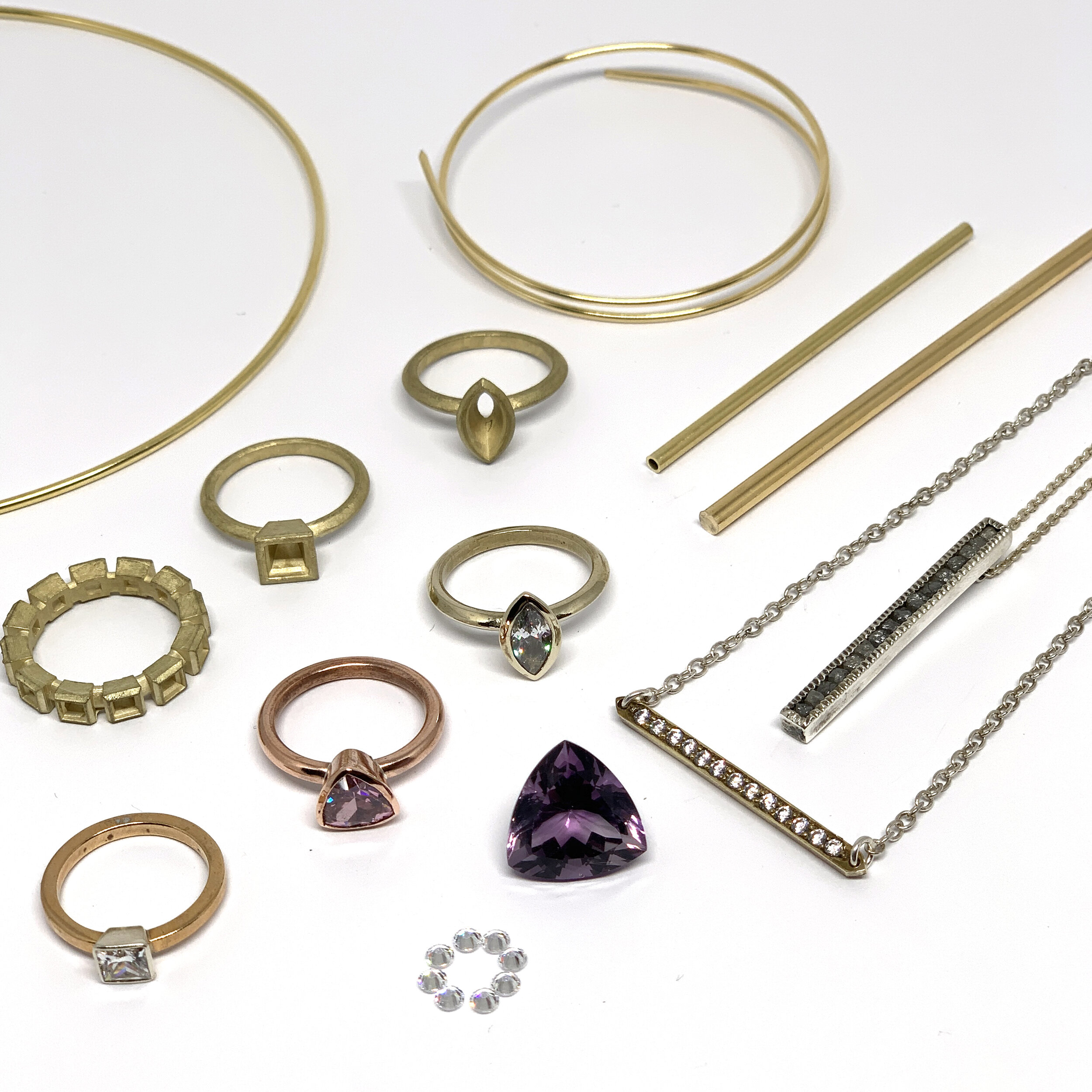 Jewellery Making Kickstarter Level 2 - 4-week full time course aimed at taking your jewellery making skills to the next level