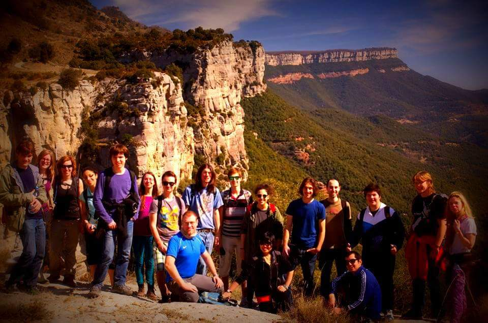 My weekly activity - hiking near Costa Brava, Spain