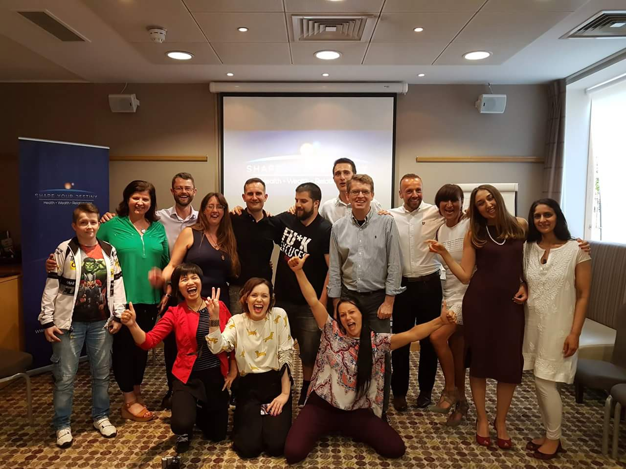 "My seminar ""Empower You"" in the UK"