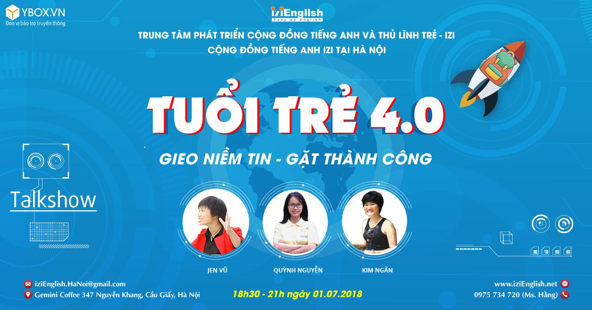 IZI Youth 4.0  Talkshow