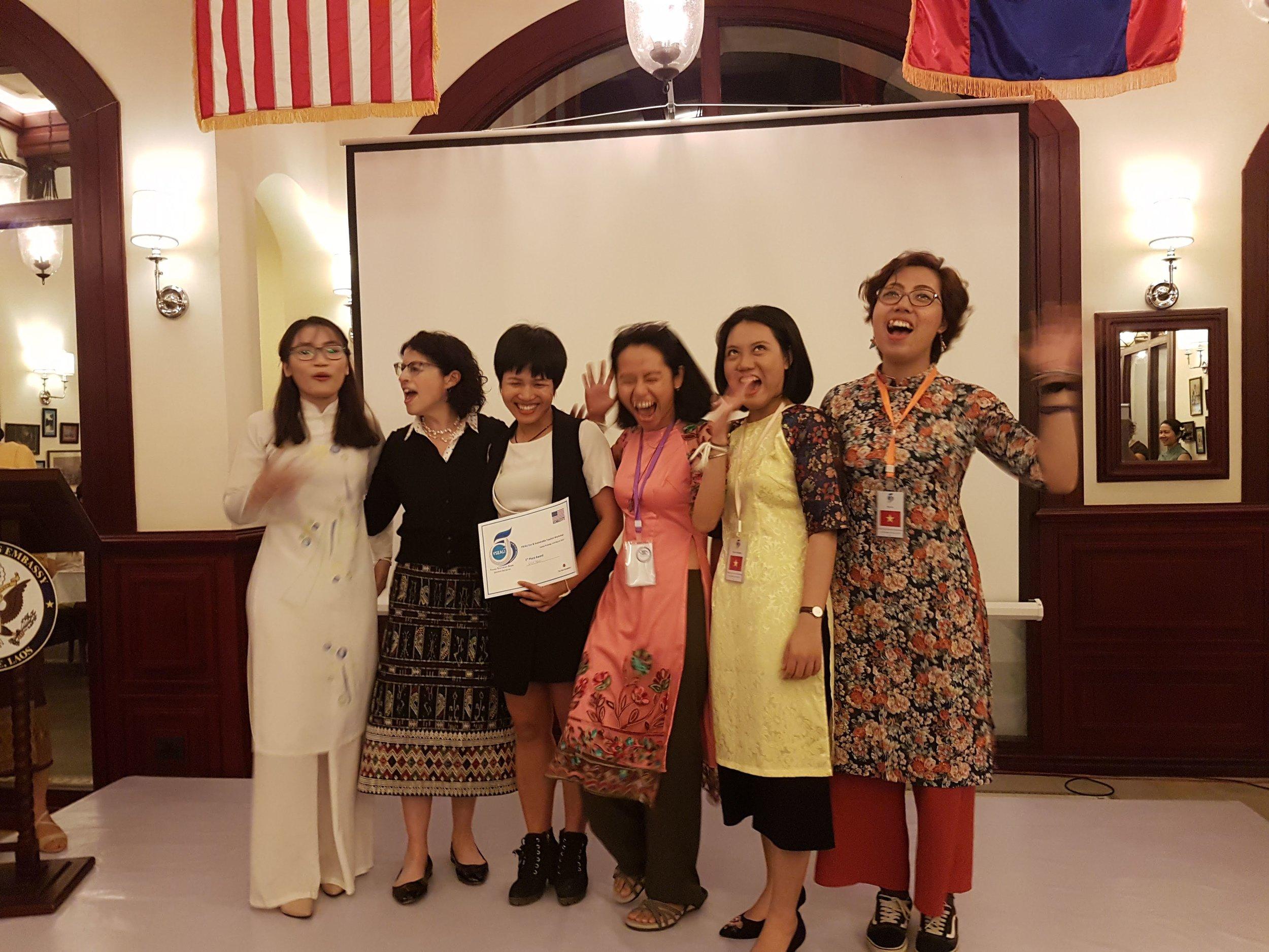 Champion  of Ecotourism program in Laos