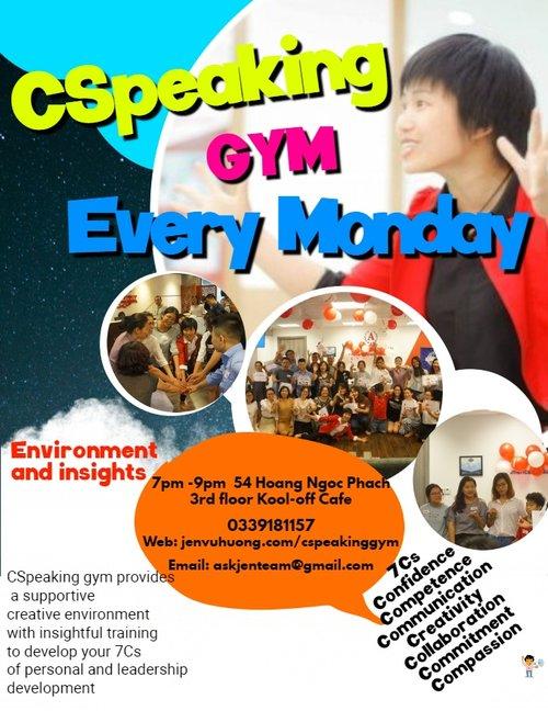 CSpeaking Gym -  7Cs leadership development program