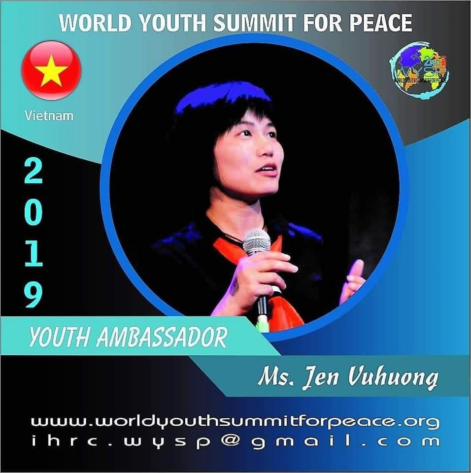 # Ambassador  of World Youth Summit for Peace