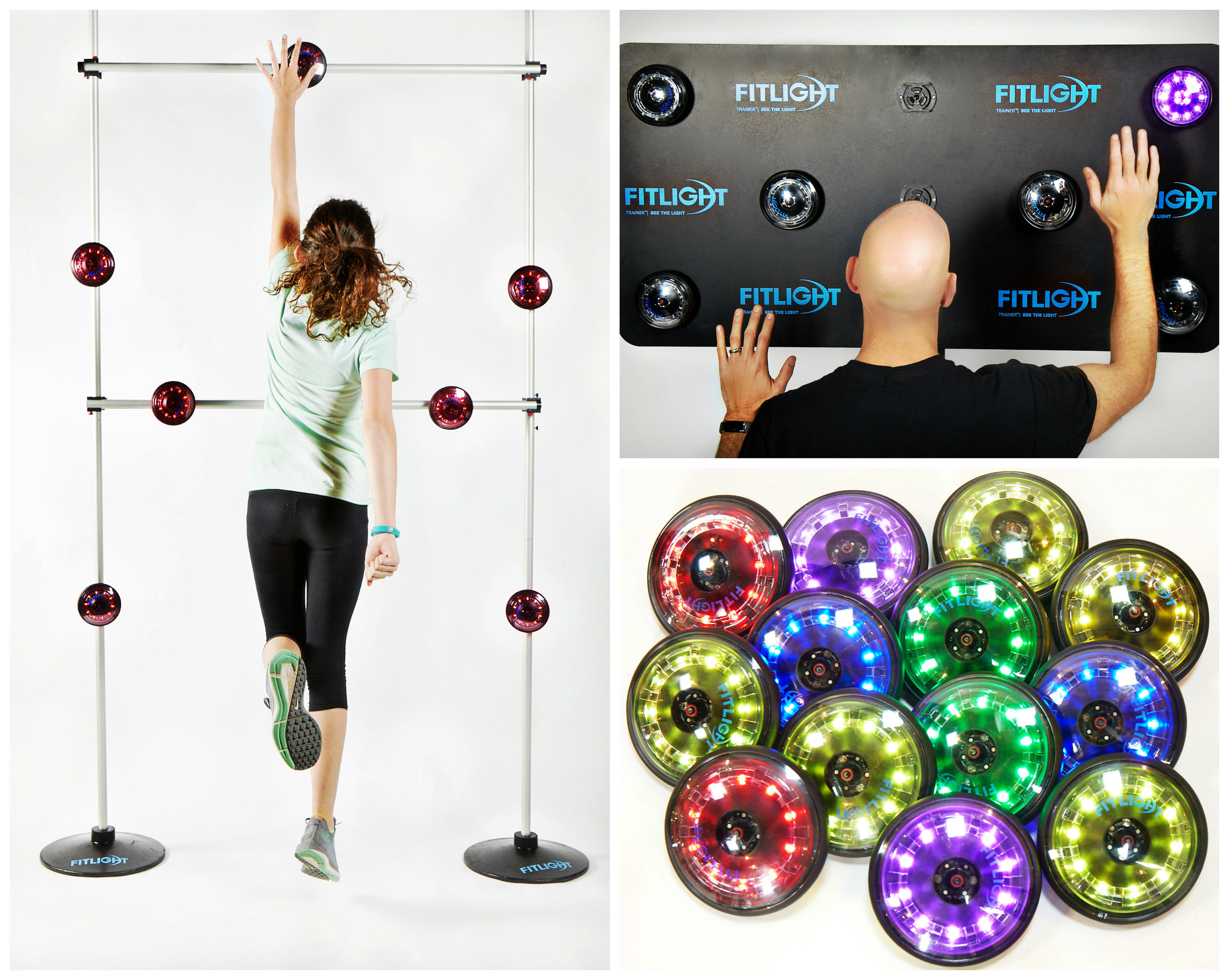 Fitlights can be arranged in virtually any configuration