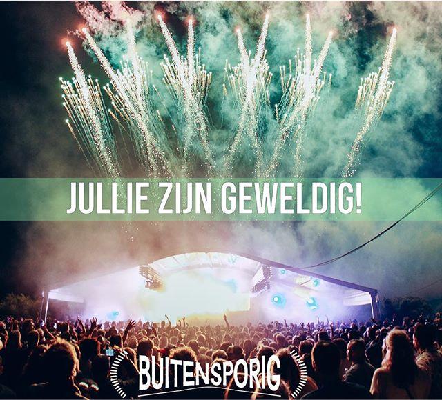 Dit was Buitensporig Festival afgelopen zaterdag!! 🚀🔆🎉dank jullie wel!  #festival #ongekend #buitensporig #leiden