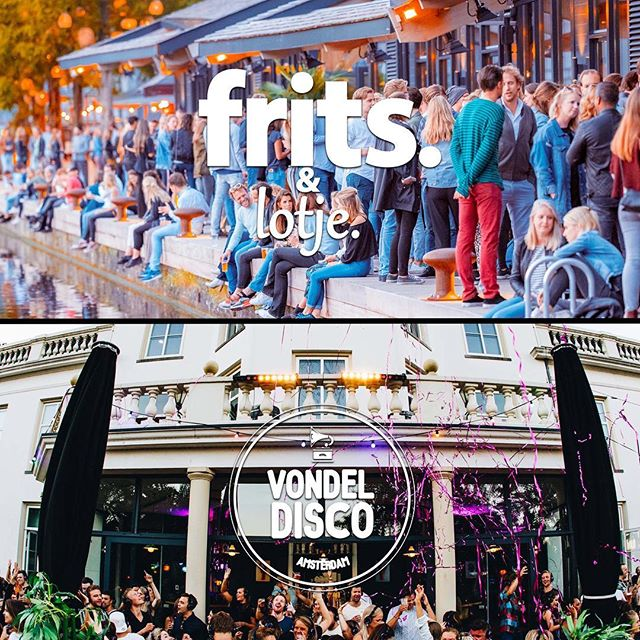 WEEKEND! Vrijdag: @fritsfriday | @followlotje @ Strand Zuid!  Zaterdag: @vondeldisco | @ Arnhem  Fijn weekend! 🎉