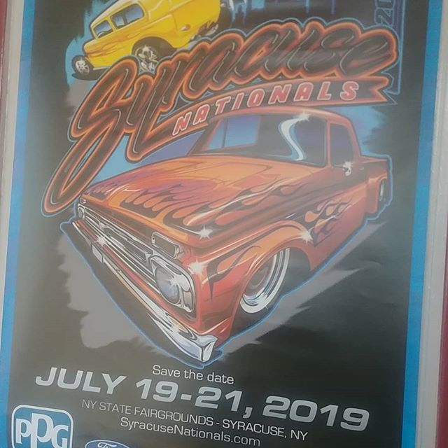 We will be closed this Friday July 19th and headed down to the @syracusenationals. Back at it Monday morning