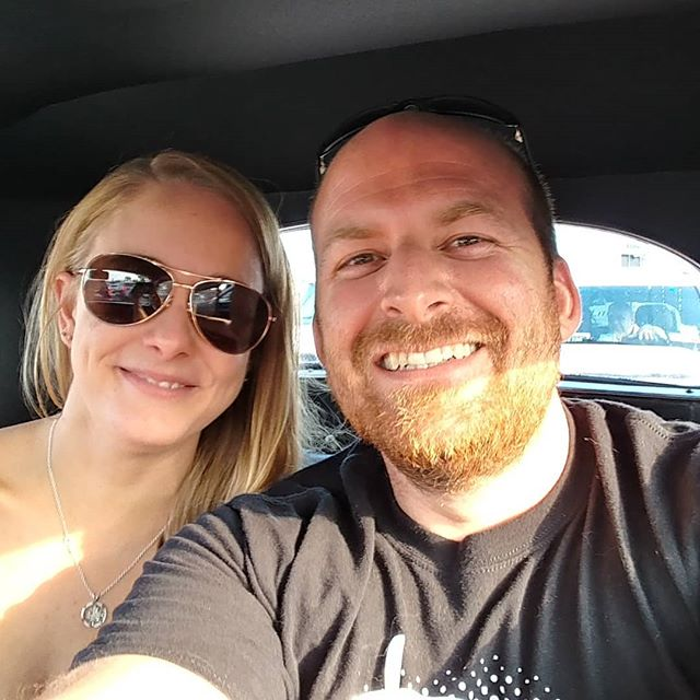 @syracusenationals bound with Louise for her first car show! After a quick thrash the ls2 is in and we are off!  Testing the cooling system on the coupe at the peace bridge... #ineednexus #carshow #lsswap @summitracingls