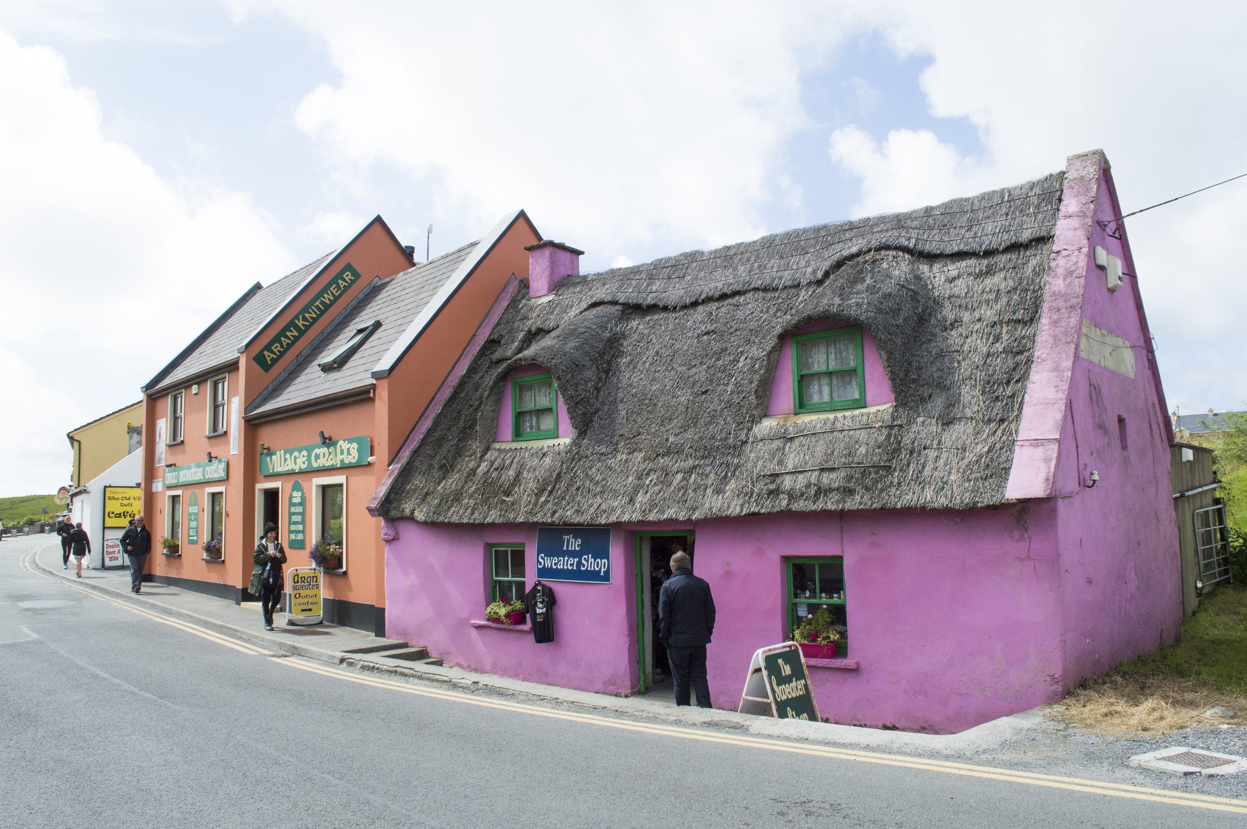 bought myself my first irish sweater here! i absolutely loved how photogenic this shop was