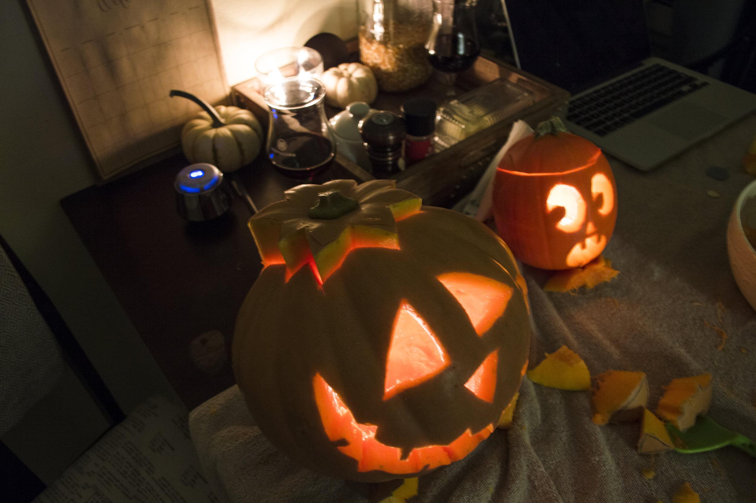 look how cute cian's lil pumpkin is!!