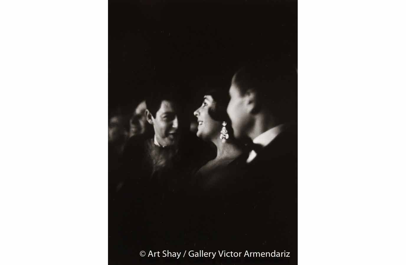 Liz Smelling Smell-o-Vision, Chicago 1960 silver gelatin print 16 x 20 inches