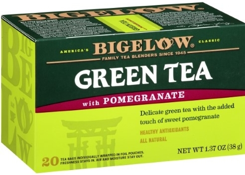 Green Tea with Pommegranate