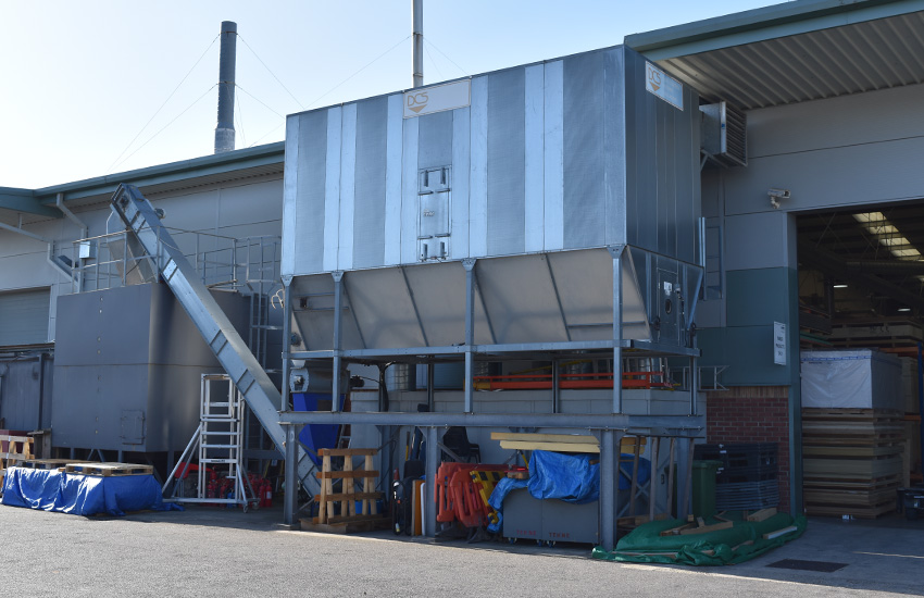 Machine Shop Extraction Plant