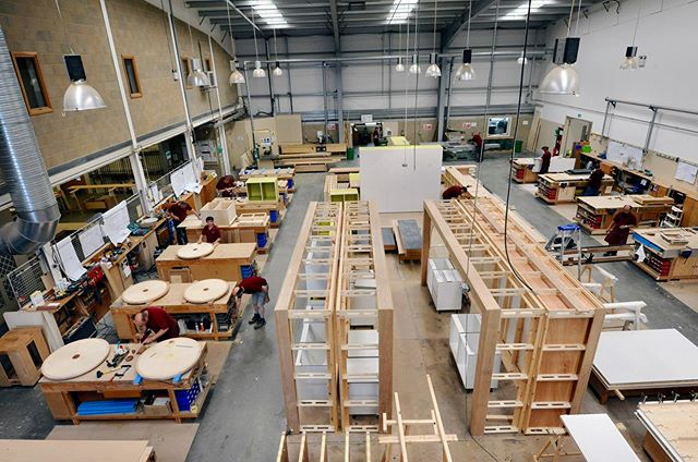 TEKNE manufactures all joinery in house, giving us complete control over all aspects of the job, this is our joinery assembly. . . . #tekneshopfitting #shopfitting #joinery #joinerymanufacturers #bespokeinteriors #cabinetmakers #veneering #marquetry #bespokejoinery #joineryworkshop #workshop  #woodworking #madeinengland