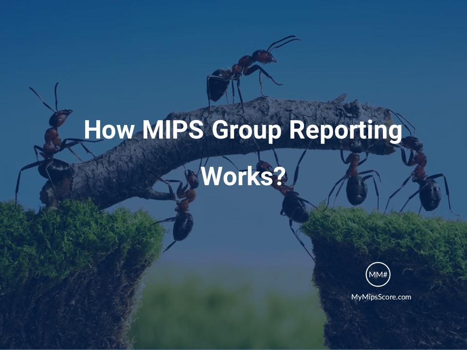 How MIPS Group Reporting Works - This post aims at helping you understand MIPS Group Reporting so you can harness the power of your team and get the highest score and positive payment adjustment.