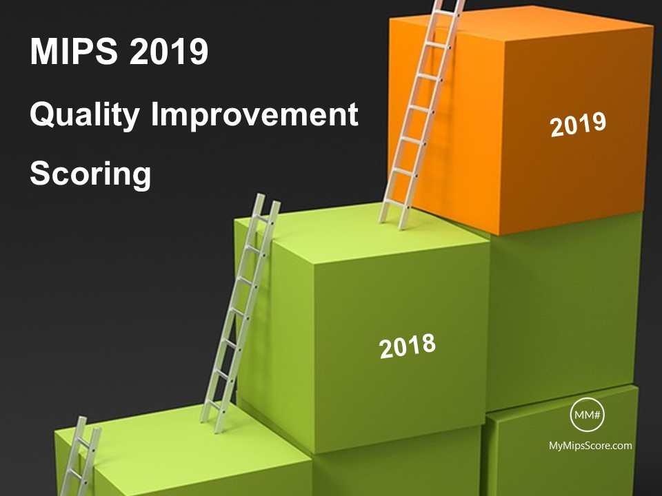 """Scoring Improvement"" bonus points for the Quality and the Cost categories are bonus points available in 2018 for demonstrating improvement in 2018 as compared to 2017 scores. As 2017 is the first year for MIPS, 2018 will be the first year where these bonus points will be available.   Here are 10 things that you need to know about scoring improvement bonus point in the quality category."