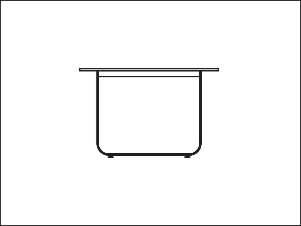 Bent Steel Legs Tables
