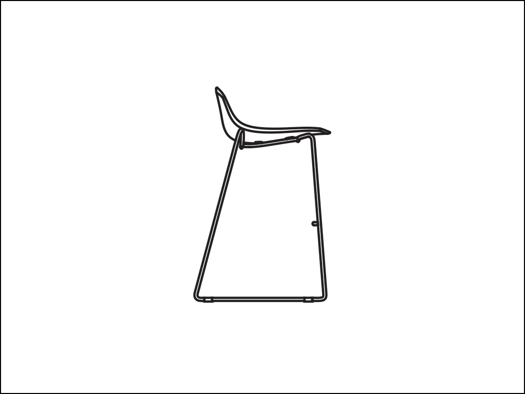 Curve Bar Chairs