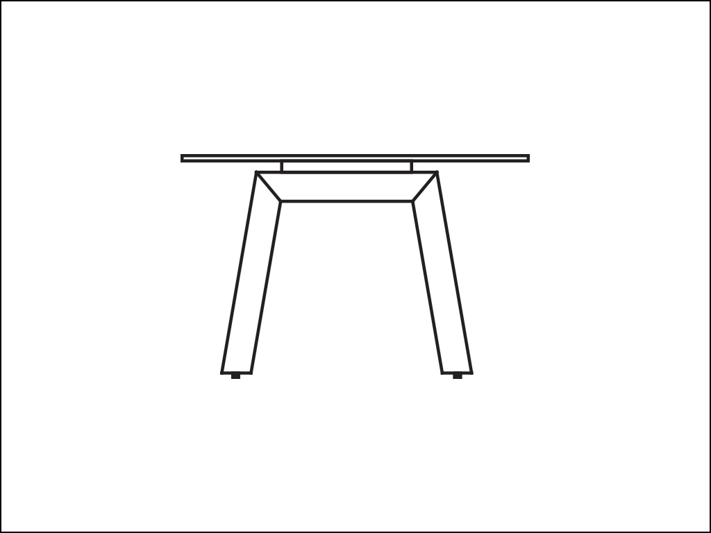 Solid Wood Legs Tables