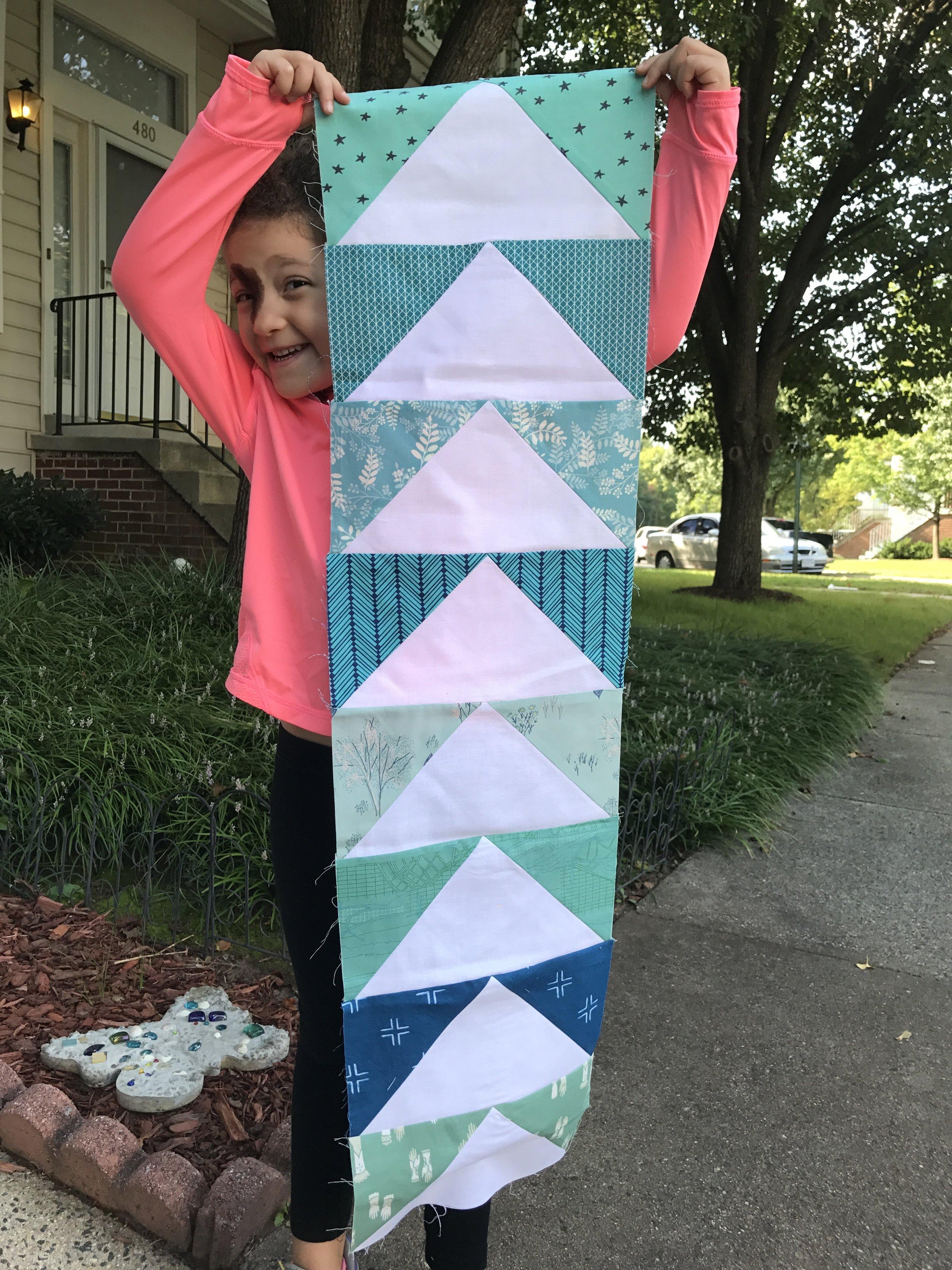 A Z size block -