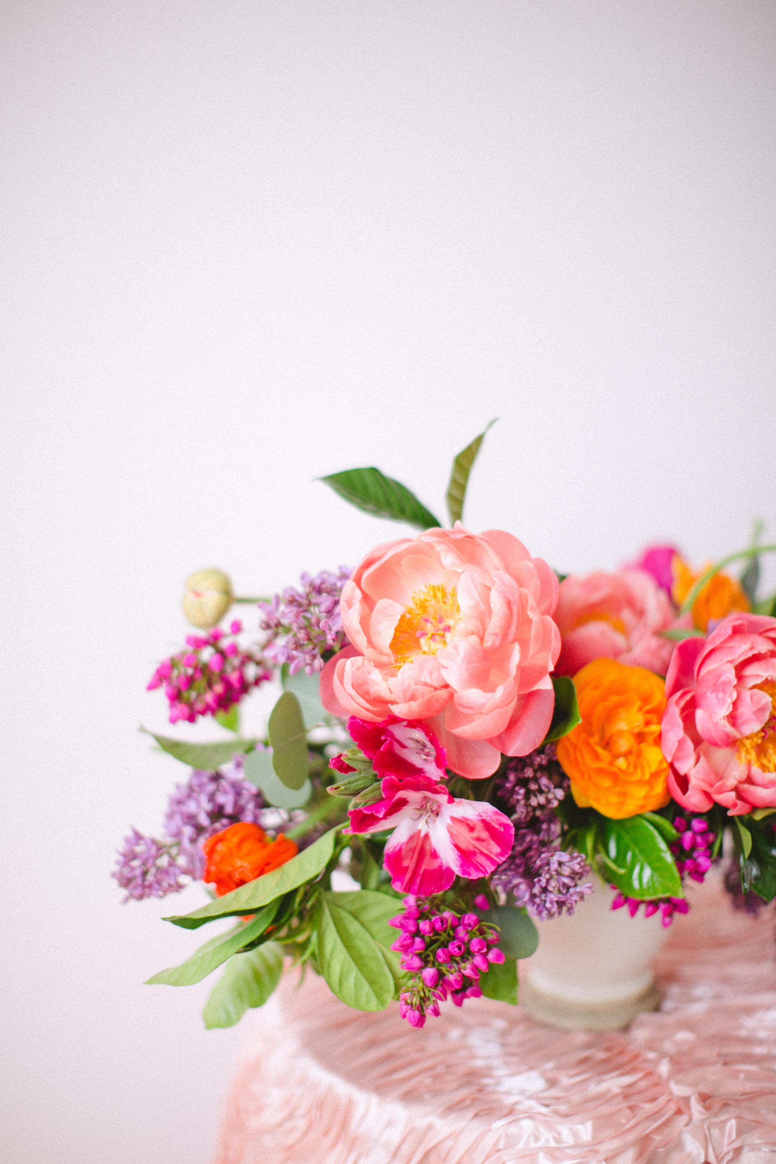 by Aimee Jobe Colorful Arrangement Wedding Bouquet Centerpiece-1.jpg