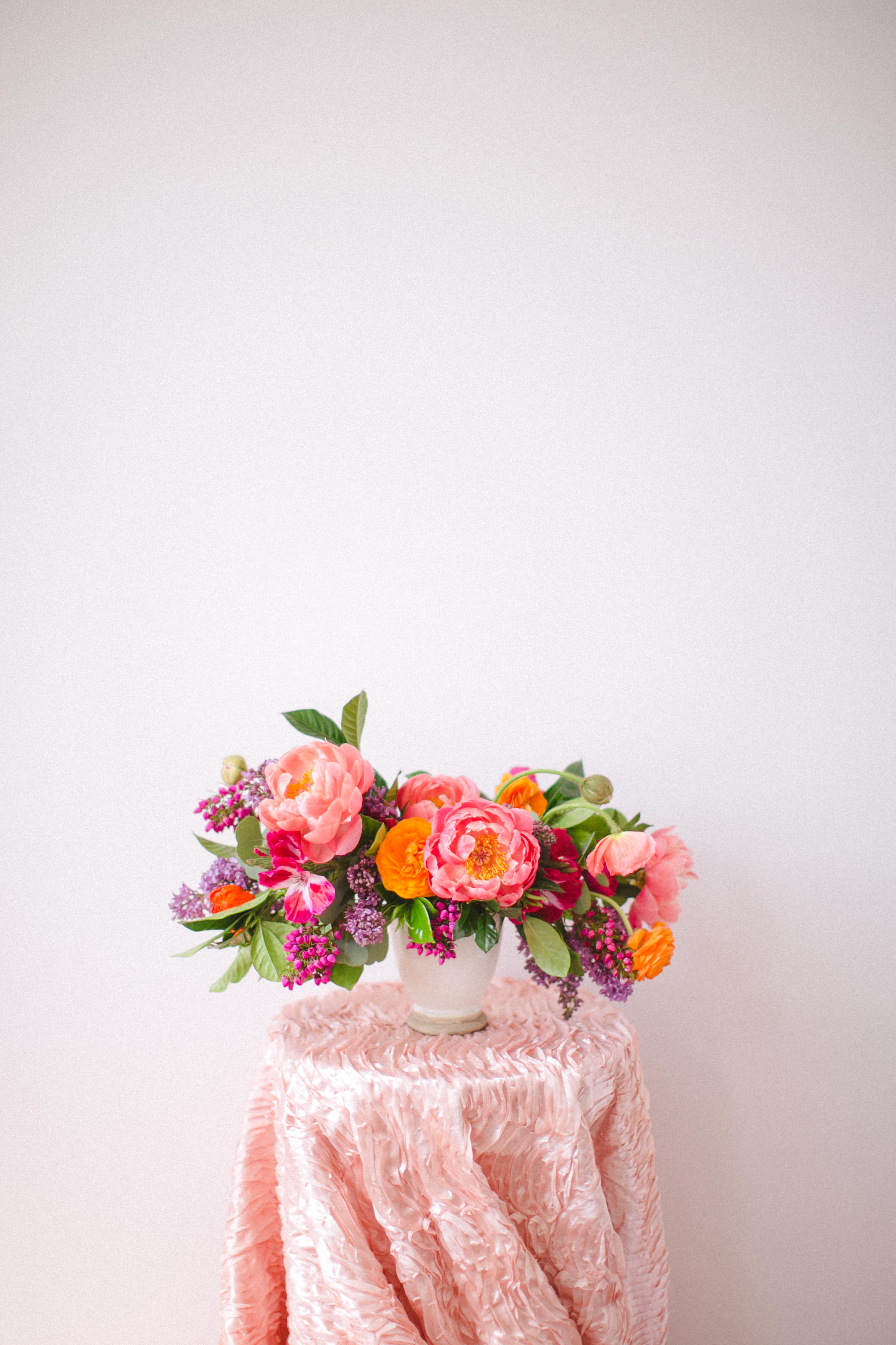 by Aimee Jobe Colorful Arrangement Wedding Bouquet Centerpiece-2.jpg