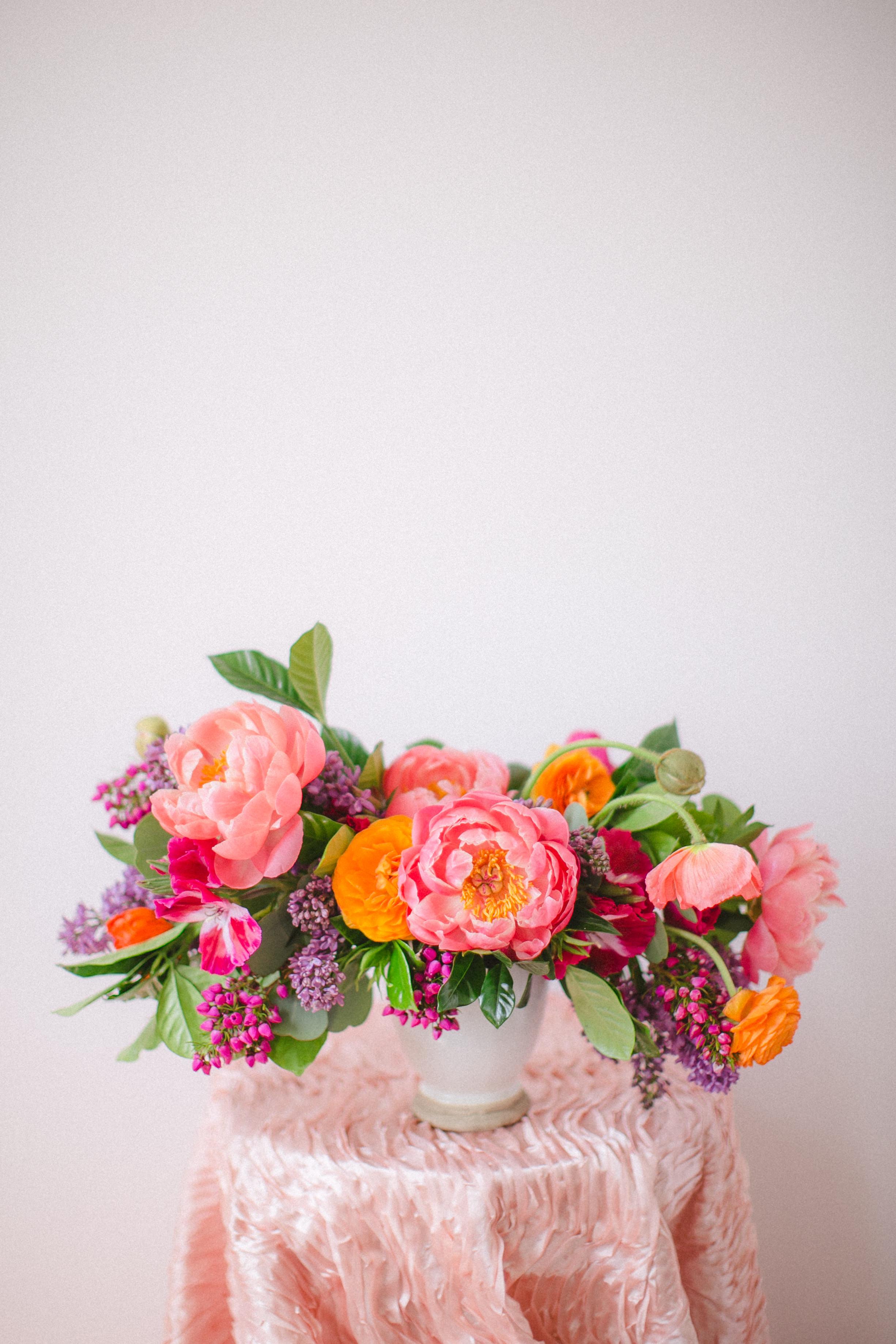 by Aimee Jobe Colorful Arrangement Wedding Bouquet Centerpiece-4.jpg