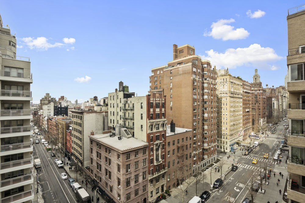 One Fifth Avenue Apt. 10D Living Room Views