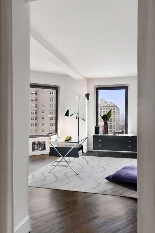 One Fifth Avenue Apt. 16B Living Room From Another Angle