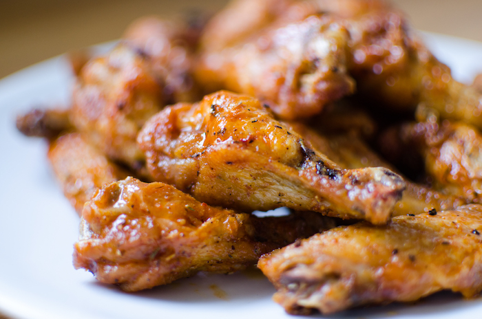 The perfect wings platter.