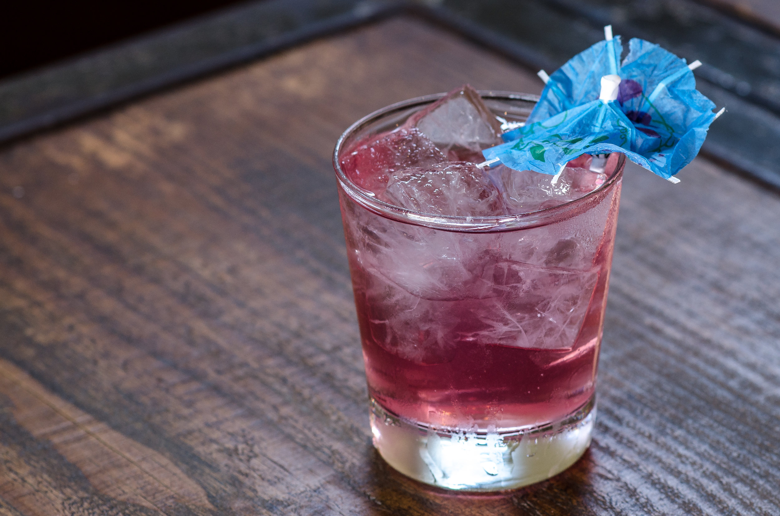 The Ginnie Yon Yon cocktail pays tribute to the original flying monkey of the Heights.