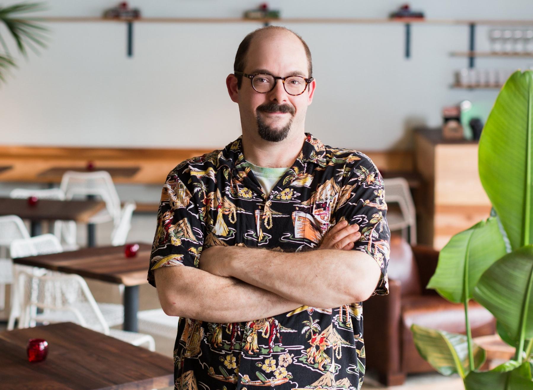 Night Heron executive chef Jacob Pate