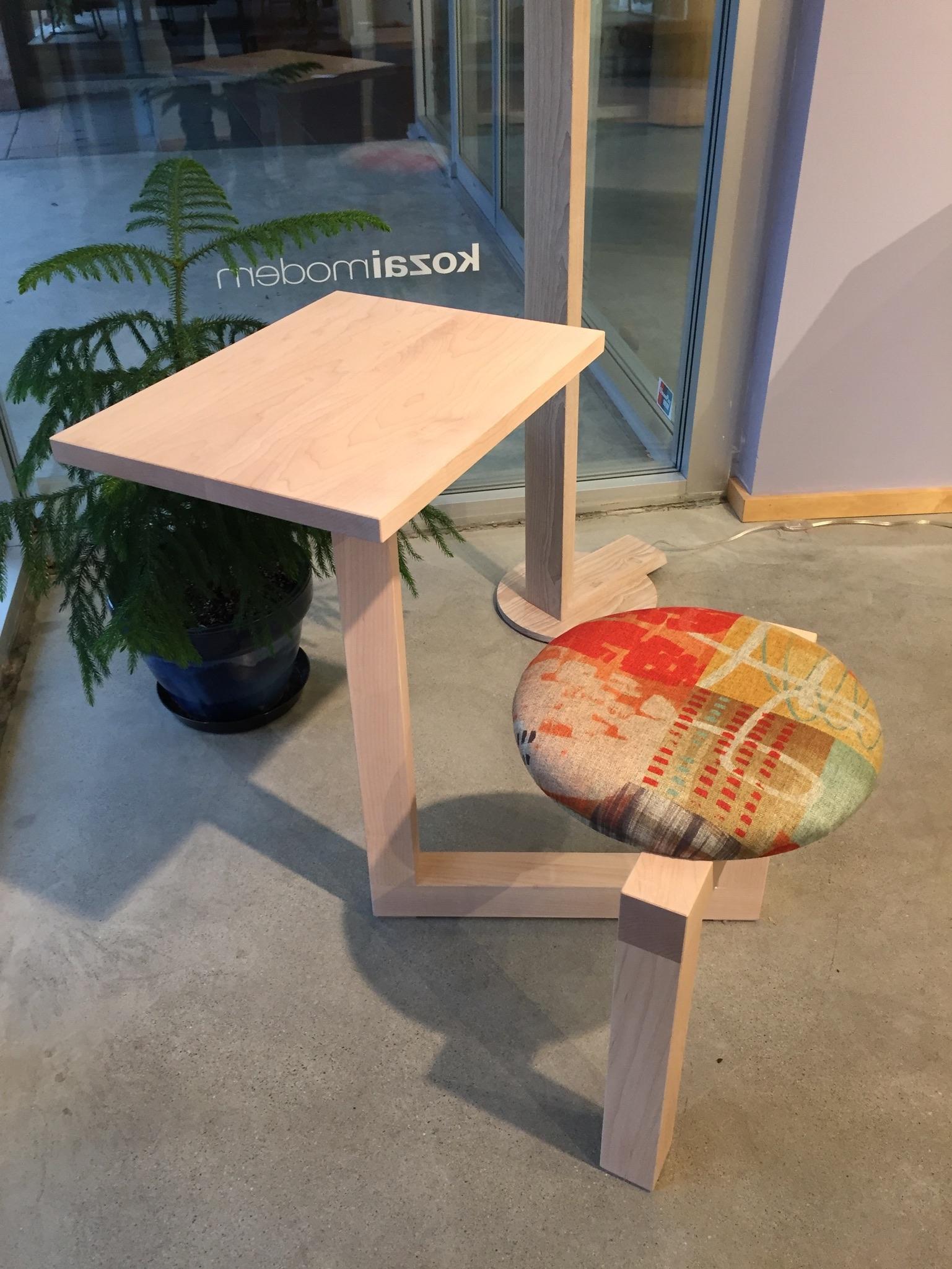KUMI Stool + Desk