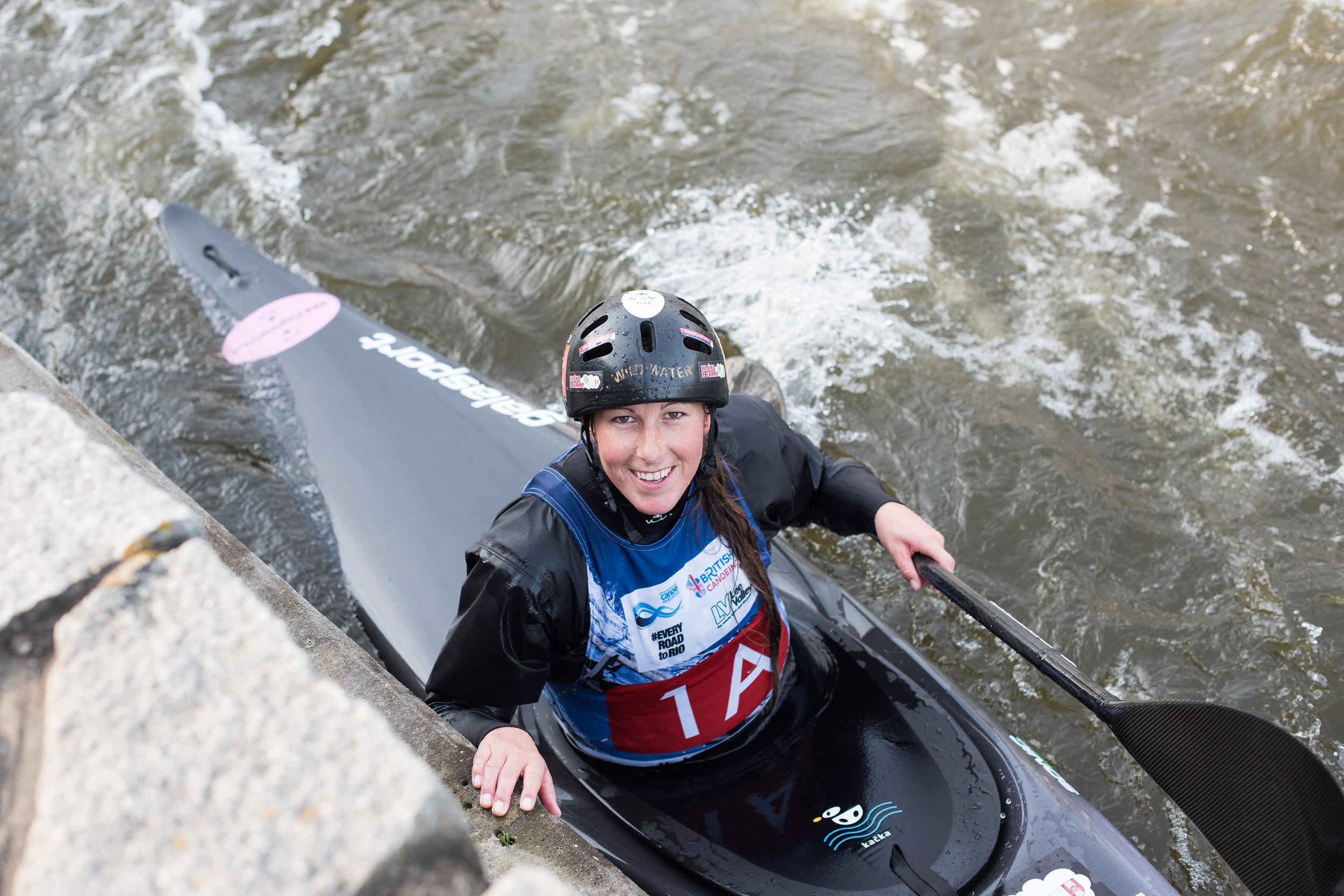 Kateřina Kudějová - world champion in water slalom