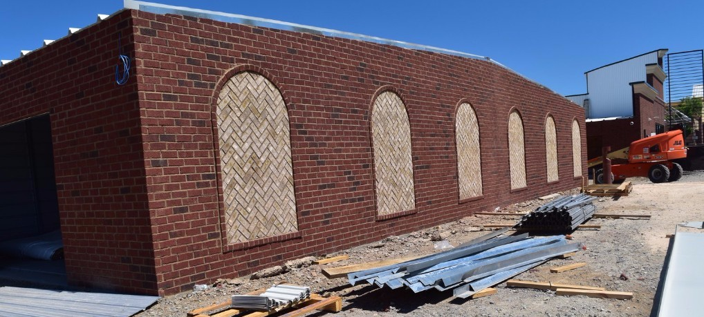 The Premier Storage Unit construction in Buford, Georgia is currently under construction and is well on its way to completing the 8 warehouse buildings at approximately 8,000 square feet per building.