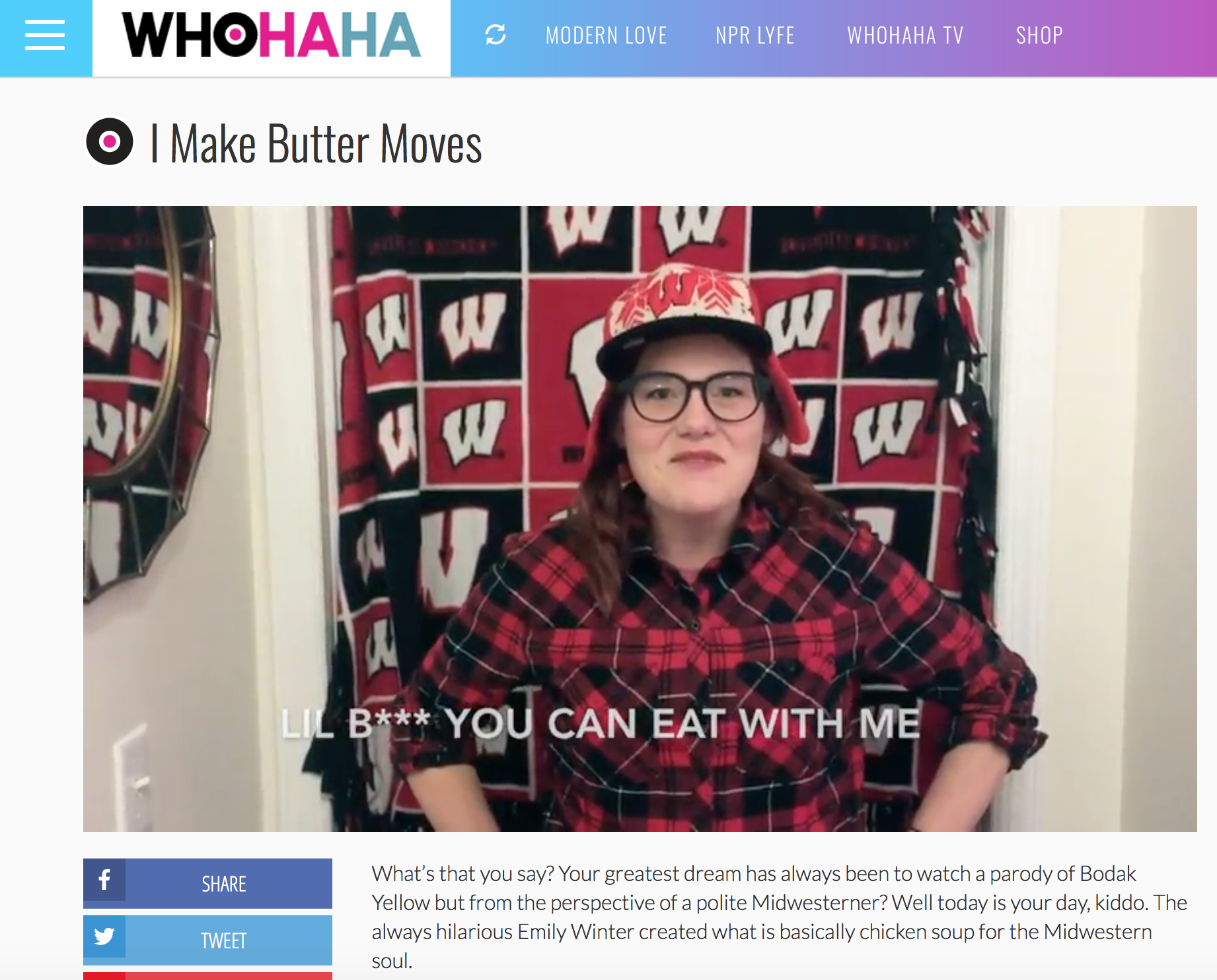 PRESS FOR ASK A MIDWESTERNER FROM WHOHAHA.COM