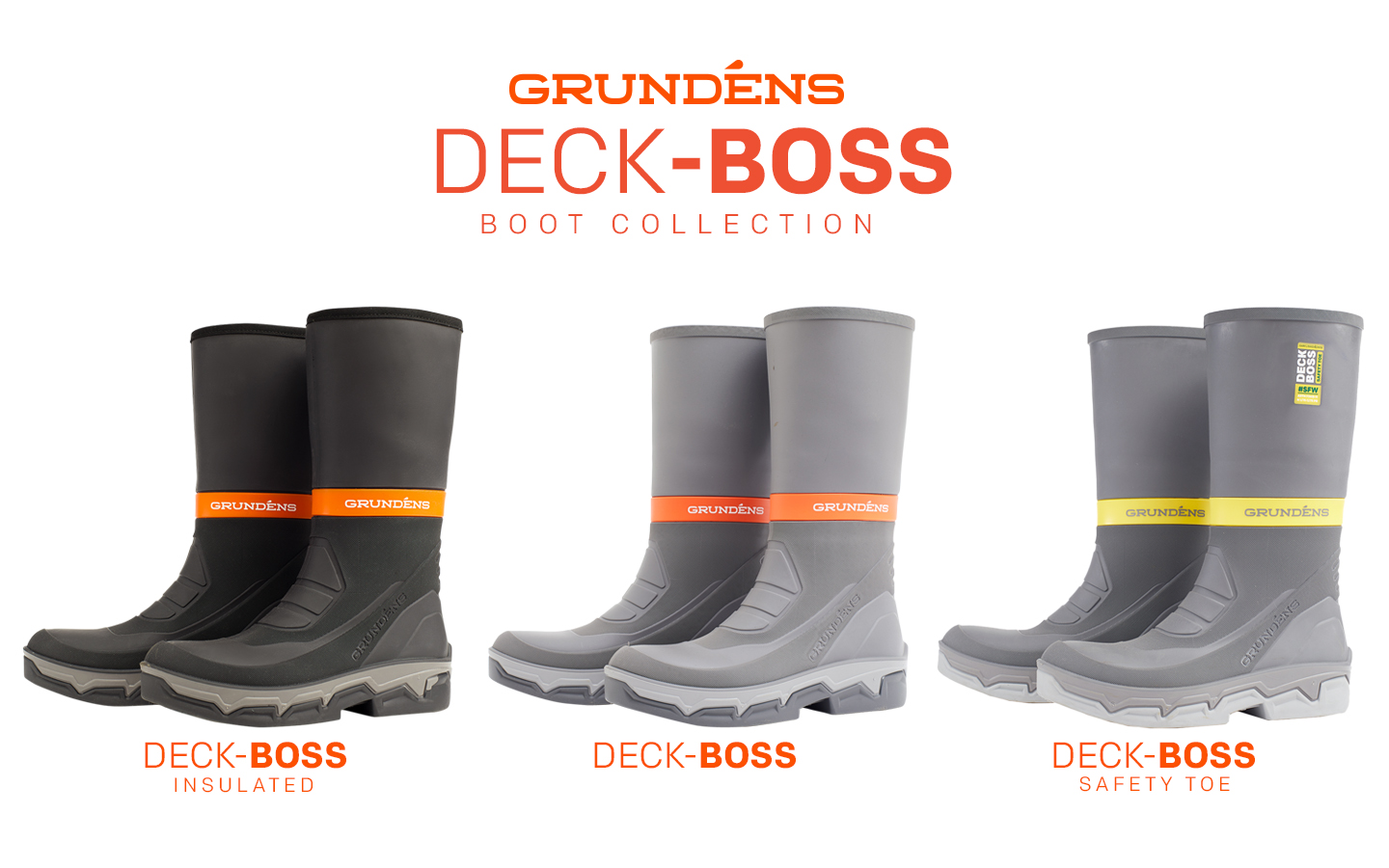 Grundéns Deck-Boss Boot Collection