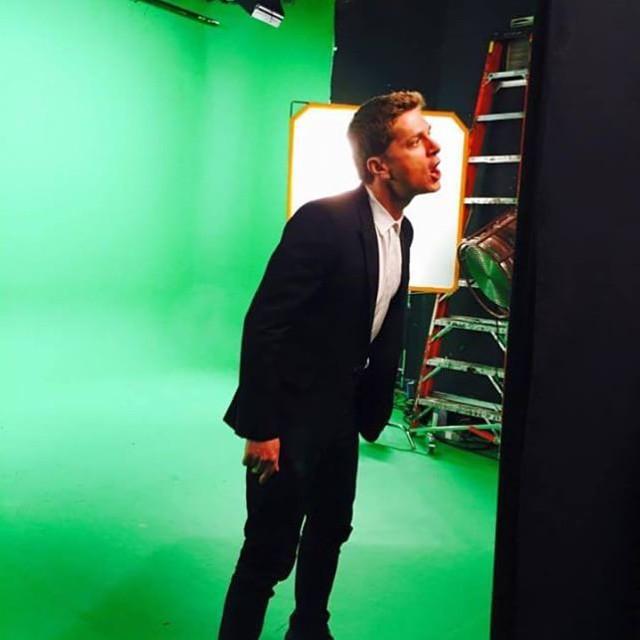 Rob Thomas at Bravo Studios - New York Green Screen