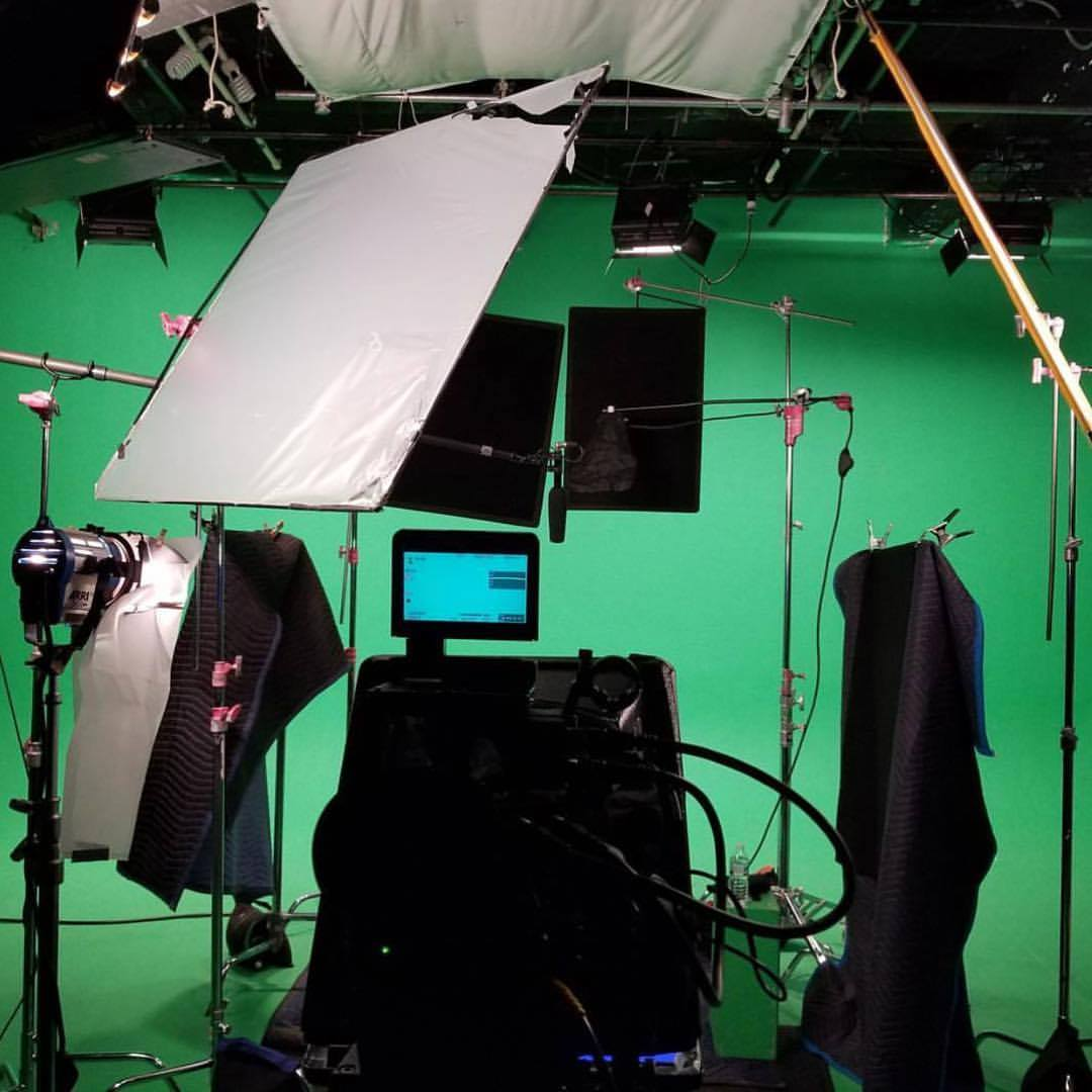 greenscreen / green screen production at bravo studios in new york city